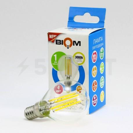 Светодиодная лампа Biom FL-303 G45 4W E14 3000K - купить