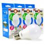 Набор LED ламп BIOM A65 15W 4500K E27 (по 3 шт.) - купить
