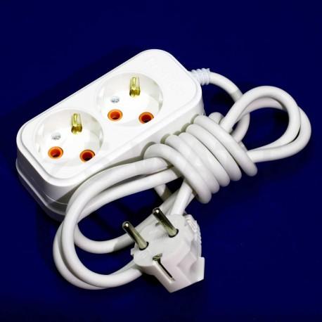Удлинитель с заземлением Profitec 2гн. 10м., белый (PRFGRP 1010200110) - недорого