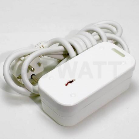 Удлинитель с заземлением Profitec 2гн. 10м., белый (PRFGRP 1010200110) - в интернет-магазине