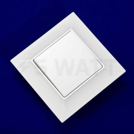 Вимикач одноклавішний Gunsan Neoline білий (1421100100101) - магазин світлодіодної LED продукції