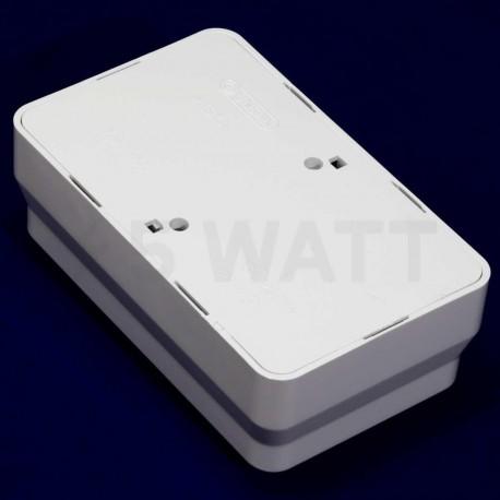 Электрическая двойная розетка Gunsan Misya наружная белая, без заземления (1051100100149) - в интернет-магазине