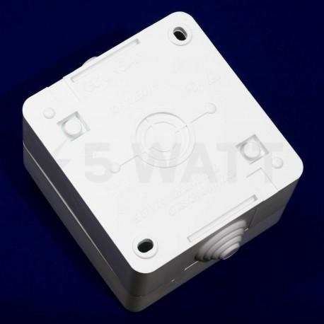 Выключатель одноклавишный Gunsan Nemli влагозащищённый белый (1071100100101) - магазин светодиодной LED продукции