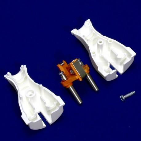 Вилка с заземлением Profitec, белая (PRFACS 9090101011) - в интернет-магазине