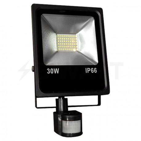 Светодиодный прожектор BIOM 30W SMD-30-Slim +sensor 6500К 220V IP65