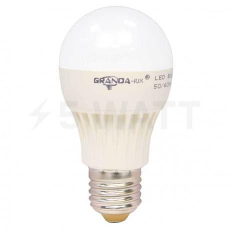 Светодиодная лампа Granda GRA-A65 7W E27 4100К матовая - придбати