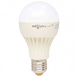 Светодиодная лампа Granda GRA-A65 9W E27 4100К матовая