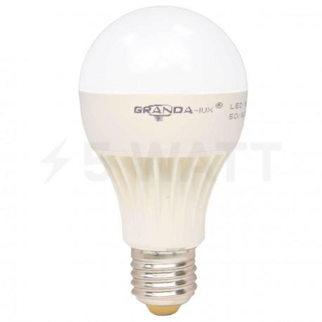 Светодиодная лампа Granda GRA-A65 9W E27 4100К матовая - придбати