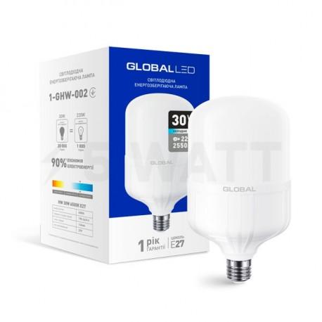 LED лампа HW GLOBAL 30W 6500K E27 (1-GHW-002) - купить