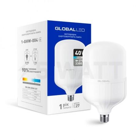 LED лампа HW GLOBAL 40W 6500K E27 (1-GHW-004) - придбати