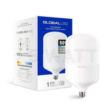 LED лампа HW GLOBAL 50W 6500K E27 (1-GHW-006-1) - купить