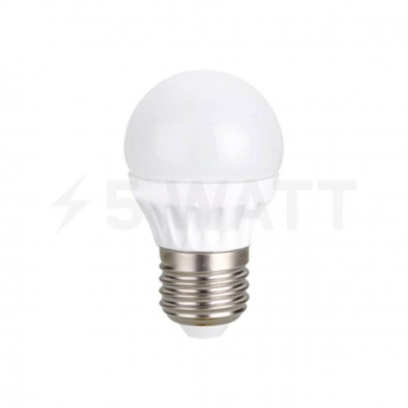 Светодиодная лампа Biom BG-203 G45 5W E27 3000К матовая - придбати