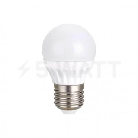 Светодиодная лампа Biom BG-204 G45 5W E27 6200К матовая - купить
