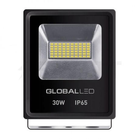 Прожектор LED GLOBAL FLOOD LIGHT 30W 5000K (1-LFL-003) - придбати