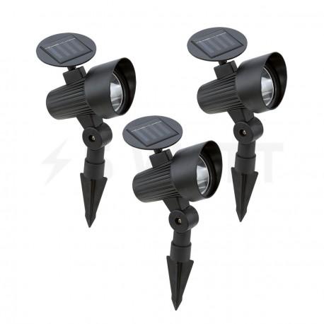 Грунтовой уличный светильник (набор 3 шт) EGLO SOLAR (48504) - купить