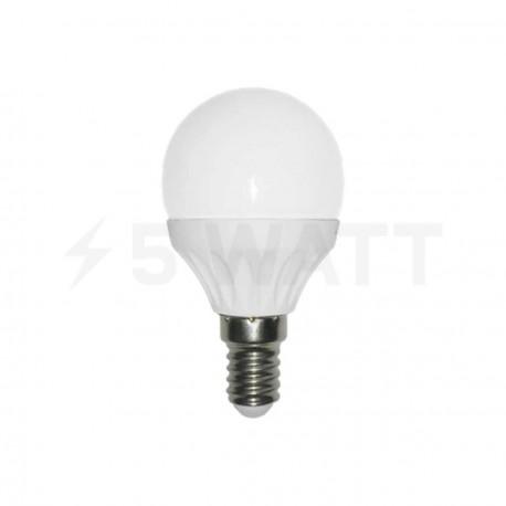 Світлодіодна лампа Biom BG-206 G45 5W E14 4500К матова - придбати