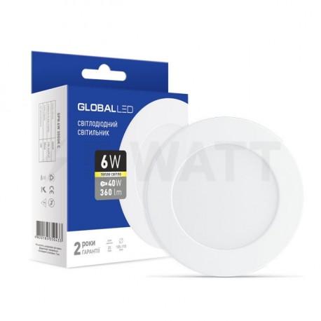Панель міні GLOBAL LED SPN 6W 3000К (1-SPN-003-C) - недорого