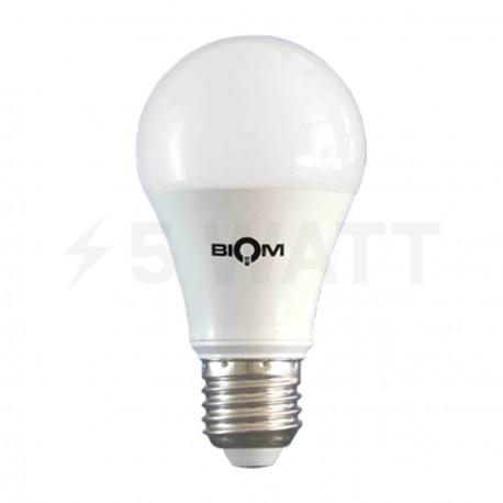 Светодиодная лампа Biom BG-209 A60 10W E27 3000К матовая - придбати