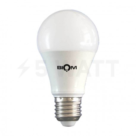 Светодиодная лампа Biom BG-209 A60 10W E27 3000К матовая