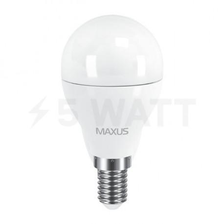 LED лампа MAXUS G45 6W 3000К 220V E14 (1-LED-543) - недорого
