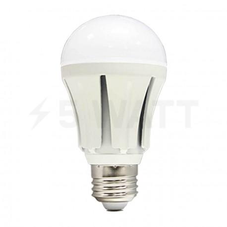 Светодиодная лампа Biom SMDLB18-12W E27 4100К матовая - придбати