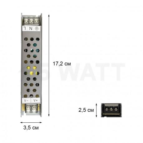 Блок питания BIOM Professional DC12 60W BPU-60 5А - в интернет-магазине