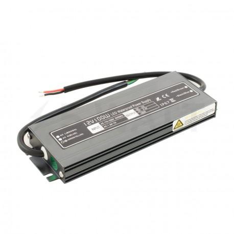 Блок питания BIOM Professional DC12 100W WBP-100 8,3А герметичный - купить