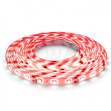 Светодиодная лента B-LED 3528-60 R IP65 красный, герметичная, 1м - купить