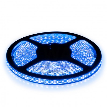 Светодиодная лента B-LED 3528-120 B IP65 синий, герметичная, 1м - купить