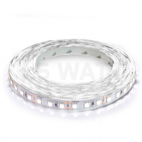 Світлодіодна стрічка B-LED 3528-120 W IP20 біла, негерметична, 1м