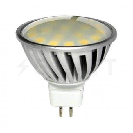 Світлодіодна лампа Biom MR16 SS-5W GU5.3 4100К матова