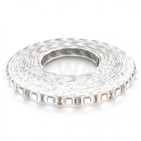 Світлодіодна стрічка B-LED 24V 5050-60 W IP65 біла, герметична, 1м
