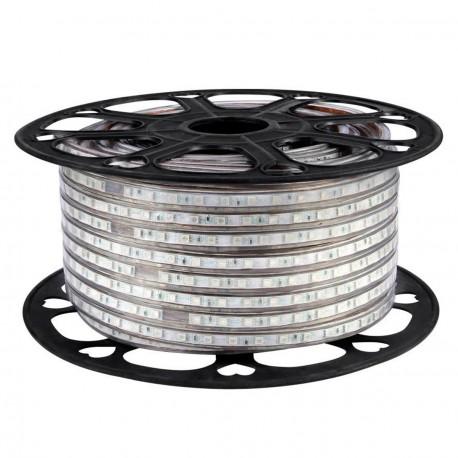 Светодиодная лента NED 5050-60 WW 220В тёплый белый IP68, герметичная, 1м - купить