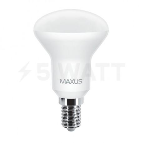 LED лампа MAXUS R50 5W 3000К 220V E14 (1-LED-553) - недорого