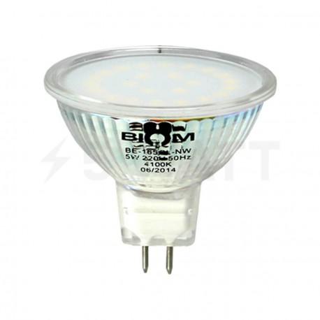 Светодиодная лампа Biom GE-165GL-NW 5W MR16 GU5.3 4100K