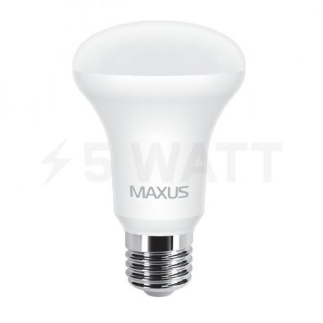 LED лампа MAXUS R63 7W 3000К 220V E27 (1-LED-555) - недорого