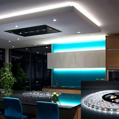 Світлодіодна стрічка B-LED 3528-60 W IP65 біла, герметична, 1м - в інтернет-магазині