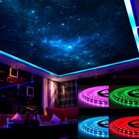 Светодиодная лента B-LED 5050-60 RGB, негерметичная, 1м - описание