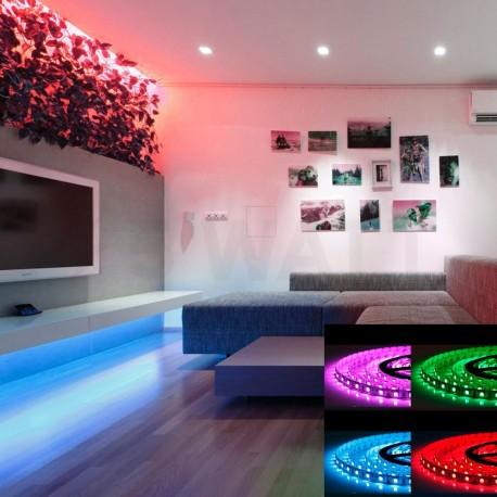 Светодиодная лента B-LED 5050-60 RGB, негерметичная, 1м - в интернет-магазине