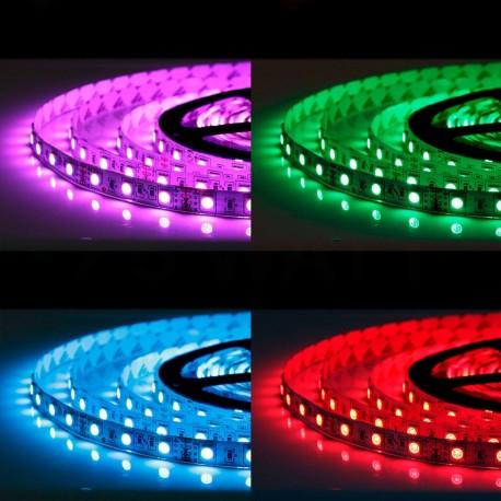 Светодиодная лента B-LED 5050-60 RGB, негерметичная, 1м - недорого