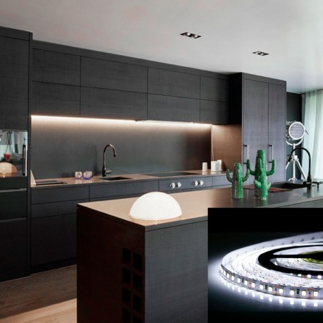 Світлодіодна стрічка B-LED 2835-120 W IP20 біла, негерметична, 1м - магазин світлодіодної LED продукції