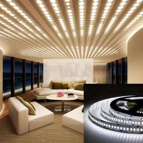 Світлодіодна стрічка B-LED 3014-240 W IP20 біла, негерметична, 1м - 5watt.ua