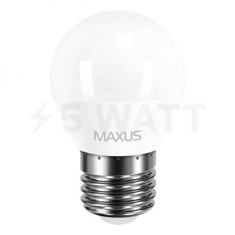 LED лампа MAXUS G45 F 4W 4100К 220V E27 (1-LED-5410) - недорого