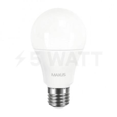 LED лампа MAXUS A60 10W 3000К 220V E27 (1-LED-561-P) - недорого