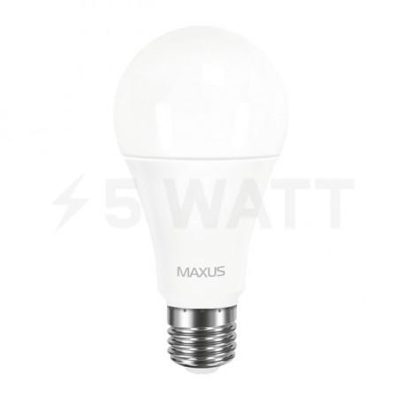 LED лампа MAXUS A65 12W 3000К 220V E27 (1-LED-563-P) - недорого