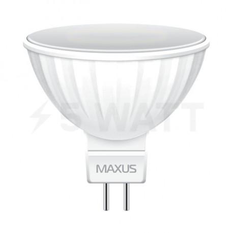 LED лампа MAXUS MR16 5W 4100К 220V GU5.3 AP (1-LED-512) - недорого
