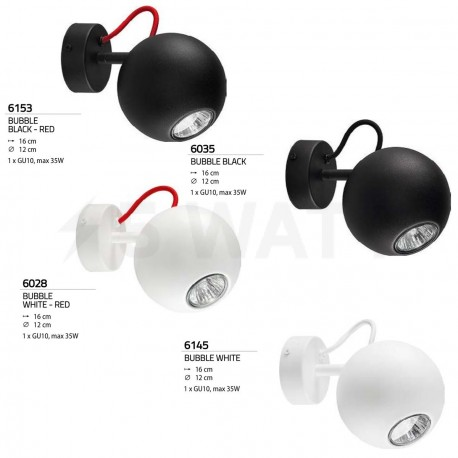 Бра NOWODVORSKI Bubble Black 6035 - недорого