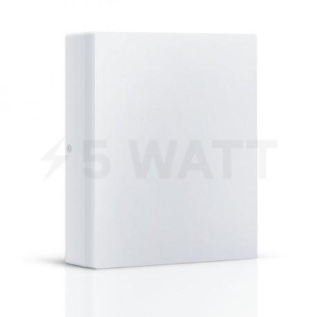 Светильник MAXUS LED настенно-потолочный 12W 3000К (1-LCL-001-06-S) - купить