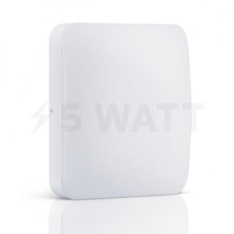 Світильник MAXUS LED настінно-стельовий 18W 4100К (1-LCL-004-04-S) - придбати