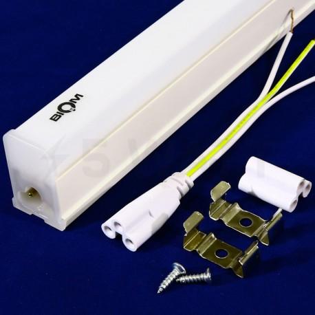 Світильник світлодіодний Biom T5-1200-22W-PL 4500K AC220 пластик - недорого